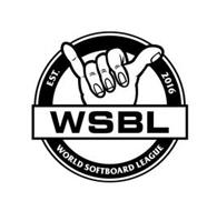 WSBL EST. 2016 WORLD SOFTBOARD LEAGUE