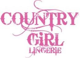 COUNTRY GIRL LINGERIE