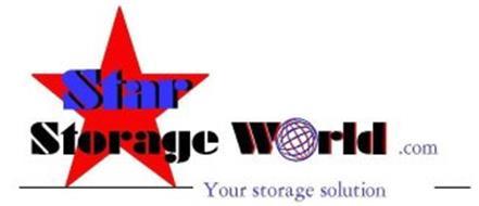 STAR STORAGE WORLD.COM YOUR STORAGE SOLUTION