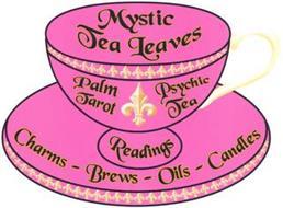 MYSTIC TEA LEAVES PALM TAROT PSYCHIC TEA READINGS CHARMS - BREWS - OILS - CANDLES