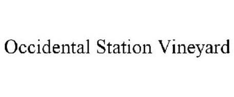 OCCIDENTAL STATION VINEYARD