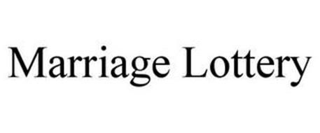 MARRIAGE LOTTERY