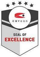CAVEON SEAL OF EXCELLENCE