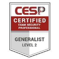 CESP CERTIFIED EXAM SECURITY PROFESSIONAL GENERALIST LEVEL 2