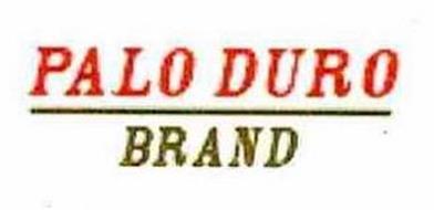 PALO DURO BRAND