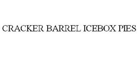 CRACKER BARREL ICEBOX PIES