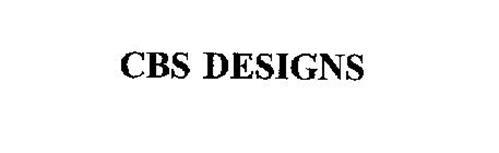 CBS DESIGNS