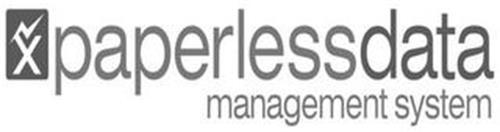 X PAPERLESS DATA MANAGEMENT SYSTEM