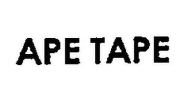 APE TAPE