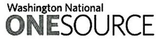 WASHINGTON NATIONAL ONE SOURCE