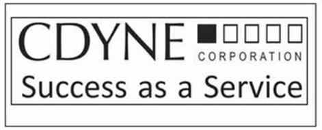 CDYNE CORPORATION SUCCESS AS A SERVICE