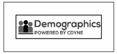 DEMOGRAPHICS POWERED BY CDYNE