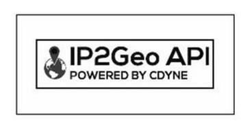 IP2GEO API POWERED BY CDYNE