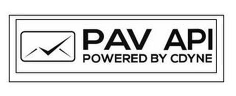 PAV API POWERED BY CDYNE