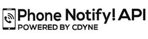 PHONE NOTIFY! API POWERED BY CDYNE