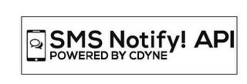 SMS NOTIFY! API POWERED BY CDYNE