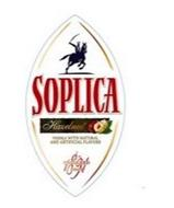 SOPLICA HAZELNUT VODKA WITH NATURAL AND ARTIFICIAL FLAVORS PRODUCED SINCE 1891