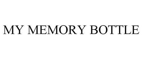 MY MEMORY BOTTLE
