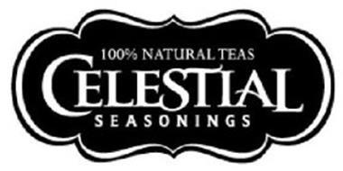 CELESTIAL SEASONINGS 100% NATURAL TEAS