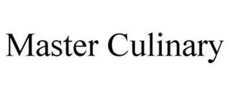 MASTER CULINARY
