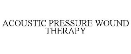 ACOUSTIC PRESSURE WOUND THERAPY
