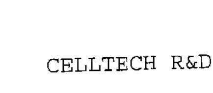 CELLTECH R&D