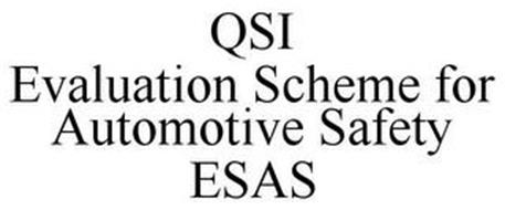 QSI EVALUATION SCHEME FOR AUTOMOTIVE SAFETY ESAS