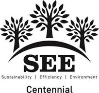 SEE SUSTAINABILITY | EFFICIENCY | ENVIRONMENT CENTENNIAL