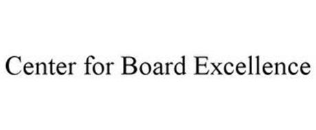 CENTER FOR BOARD EXCELLENCE