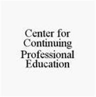 CENTER FOR CONTINUING PROFESSIONAL EDUCATION