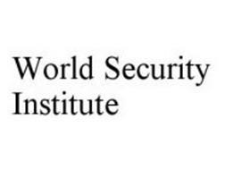 WORLD SECURITY INSTITUTE