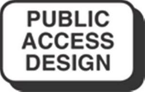 PUBLIC ACCESS DESIGN