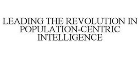 LEADING THE REVOLUTION IN POPULATION-CENTRIC INTELLIGENCE