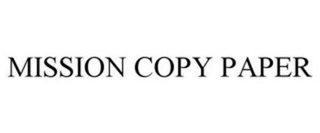 MISSION COPY PAPER