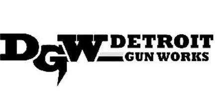 Dgw Detroit Gun Works Trademark Of Central Screw Products Company
