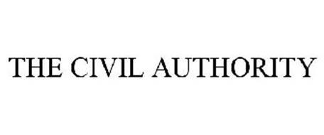 THE CIVIL AUTHORITY
