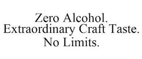 ZERO ALCOHOL. EXTRAORDINARY CRAFT TASTE. NO LIMITS.