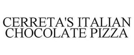 CERRETA'S ITALIAN CHOCOLATE PIZZA