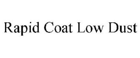 RAPID COAT LOW DUST