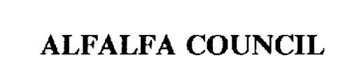 ALFALFA COUNCIL