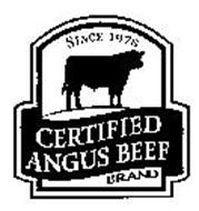 CERTIFIED ANGUS BEEF BRAND SINCE 1978