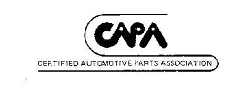 CAPA CERTIFIED AUTOMOTIVE PARTS ASSOCIATON