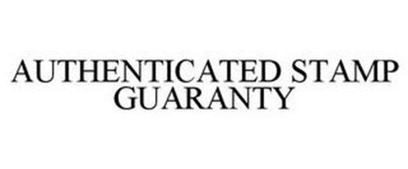 AUTHENTICATED STAMP GUARANTY