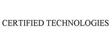 CERTIFIED TECHNOLOGIES