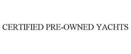 CERTIFIED PRE-OWNED YACHTS