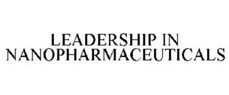 LEADERSHIP IN NANOPHARMACEUTICALS