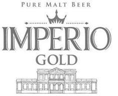 PURE MALT BEER IMPERIO GOLD
