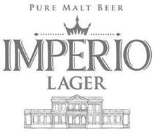 PURE MALT BEER IMPERIO LAGER