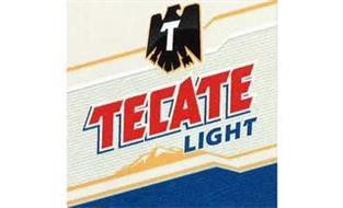 T TECATE LIGHT