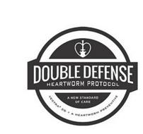 DOUBLE DEFENSE HEARTWORM PROTOCOL A NEW STANDARD OF CARE VECTRA 3D + A HEARTWORM PREVENTIVE